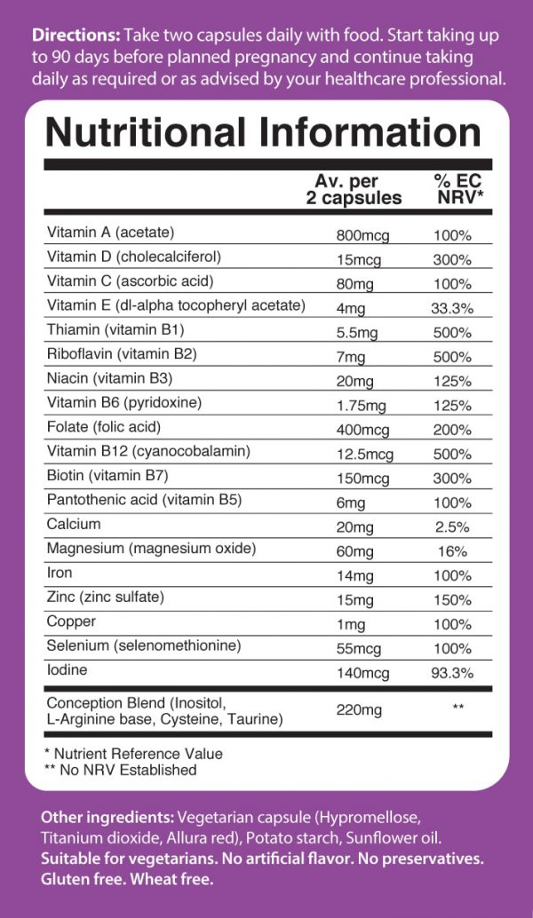 women-Fertility-support-UK-Europe-ingredients
