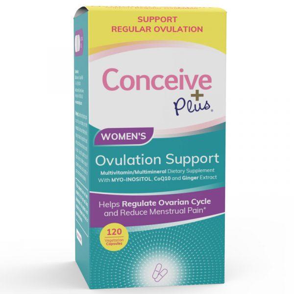 Conceive Plus Suporte de Ovulação 120 Cápsulas